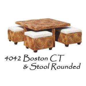 Boston Wicker Coffee Table
