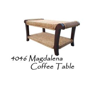 Magdalena Rattan Coffee Table