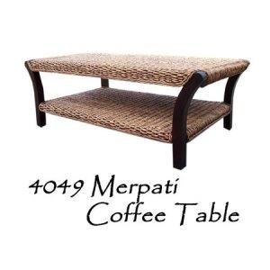 Merpati Wicker Coffee Table