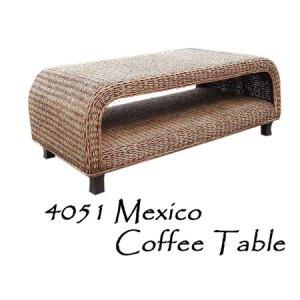 Mexico Wicker Coffee Table