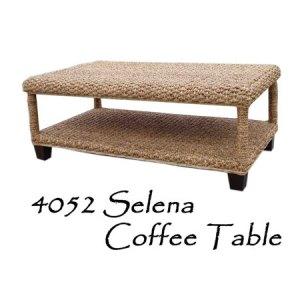 Selena Wicker Coffee Table