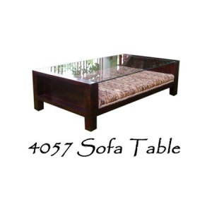Sofa Wicker Table