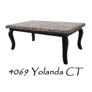 Yolanda Rattan Coffee Table
