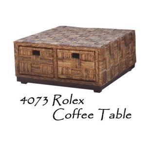 Rolex Rattan Coffee Table