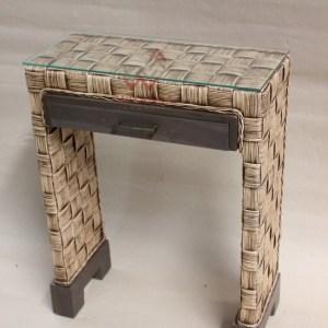 Luna Rattan Console Table
