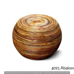 Abalone Rattan Table