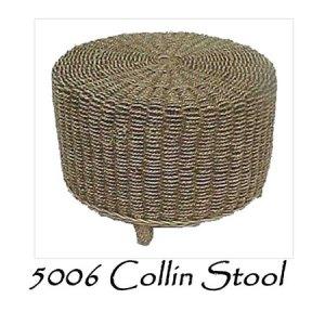 Collin Wicker Stool