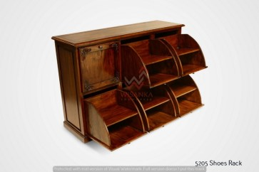 Shoes Wooden Rack