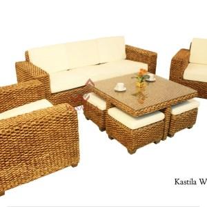 Kastila Wicker Living Set