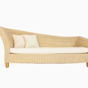 Romania rattan lounge sofa front