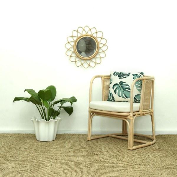 Diane Rattan Arm Chair
