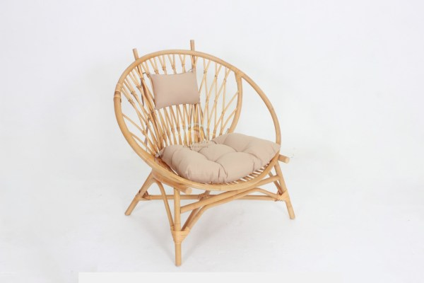 Orchid Rattan Chair Natural