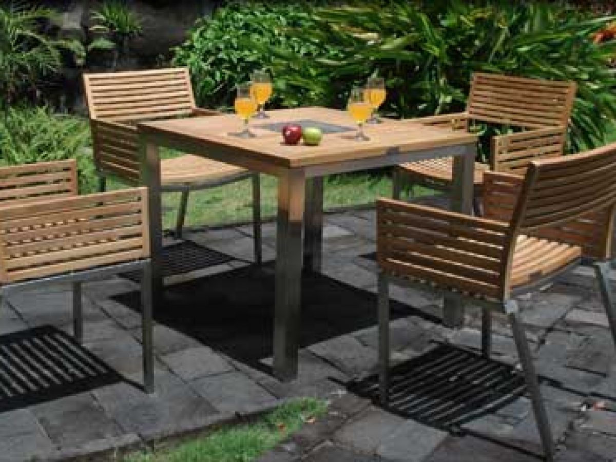 teak outdoor furniture sets here can
