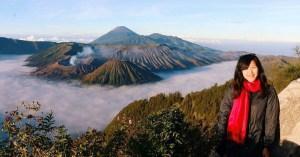 Kabut pagi gunung bromo - indonesia traveller - wisata bromo