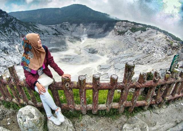 wisata alam bandung - gunung tangkuban perahu - indonesia traveller id