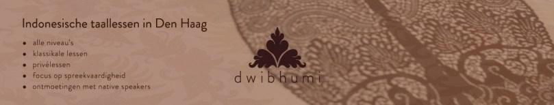 Website Indonesische Taallessen DwiBhumi Den Haag