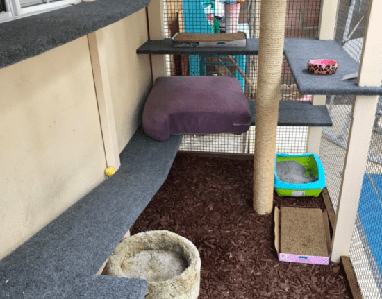 balcony netting for pets