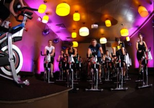 indoor cycling studio design