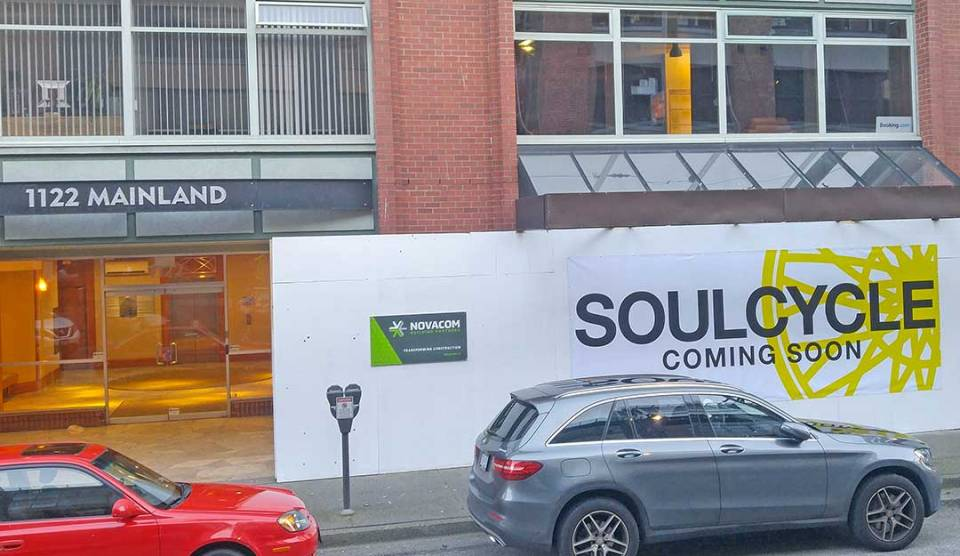 soul cycle vancouver