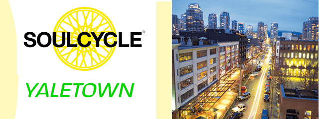 soulcycle vancouver yaletown