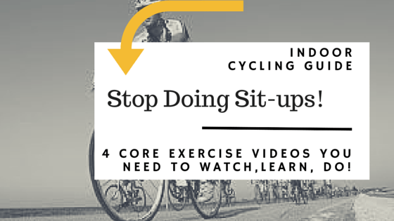 Core Exercises for Indoor Cycling