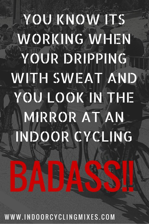 7 Badass Motivational Quotes For Spin Class To Get You Through Your
