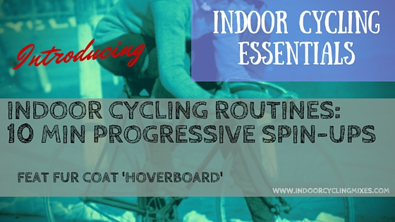 Indoor Cycling And Spin Class Drills - 10 min Spin Ups