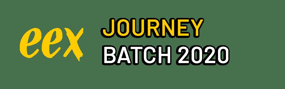 Indoor Informatics EEX Journey batch