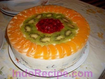Hungarian Cheesecake (Gyumolcsos Turotorta)