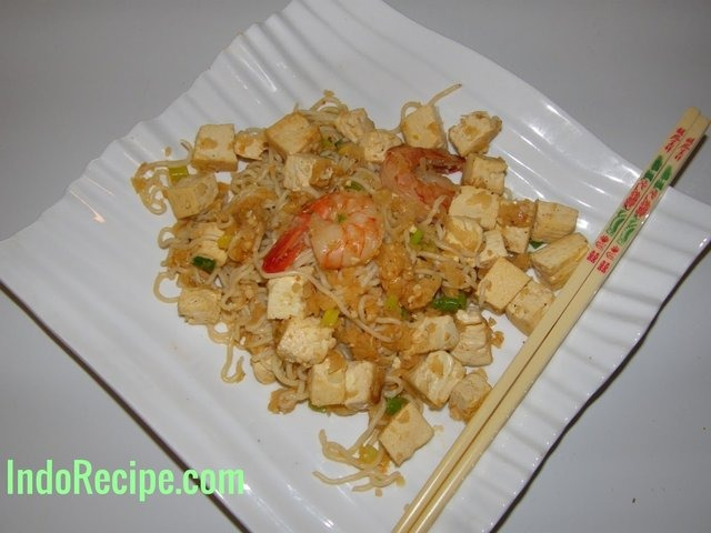 Shrimp Fried Noodle (Low Carb For Ketogenic)