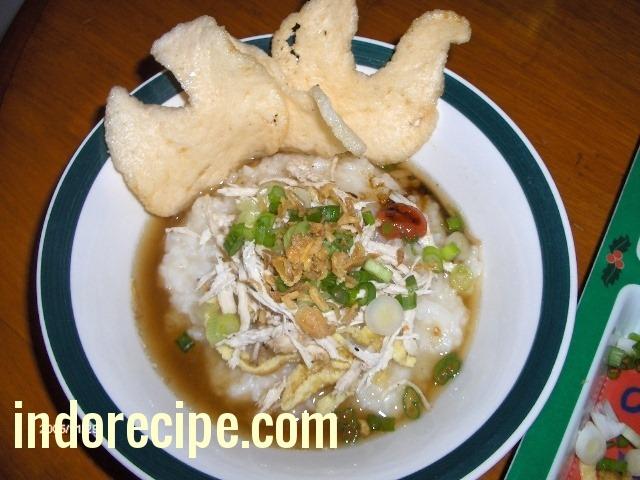 Chicken Congee (Bubur Ayam)