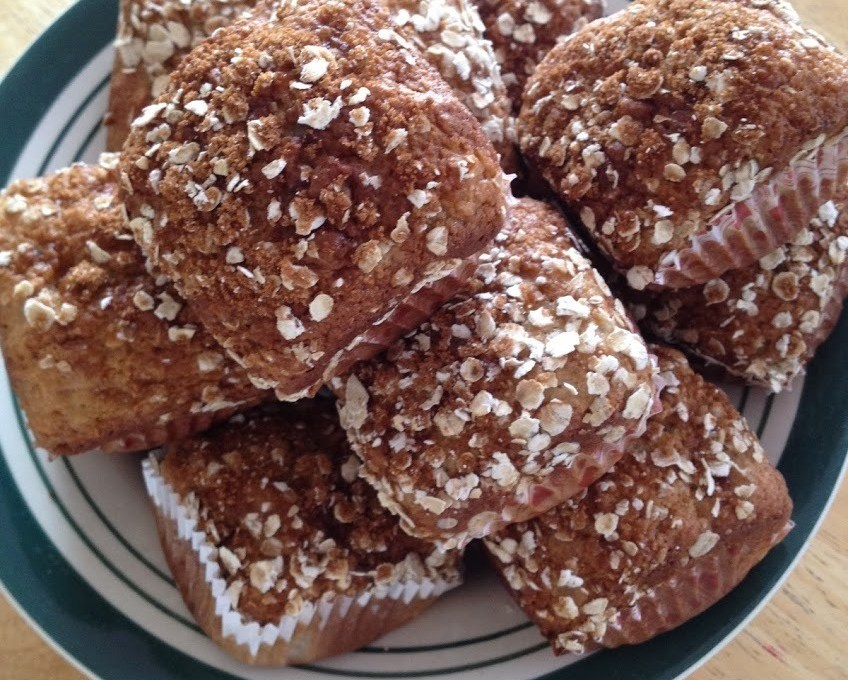 Banana Cottage Cheese Muffins
