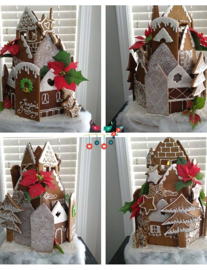 Gingerbread Village (Upright Style)