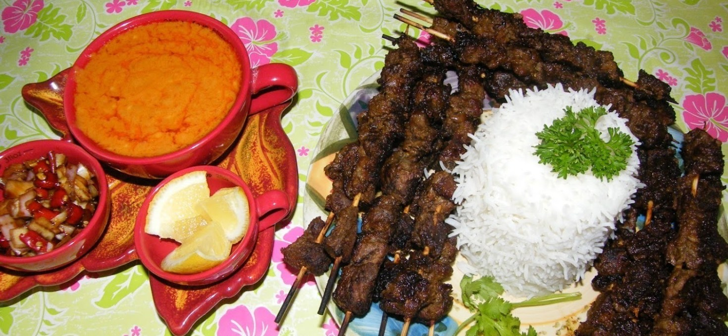 Indonesian Beef Satay (Sate Daging)