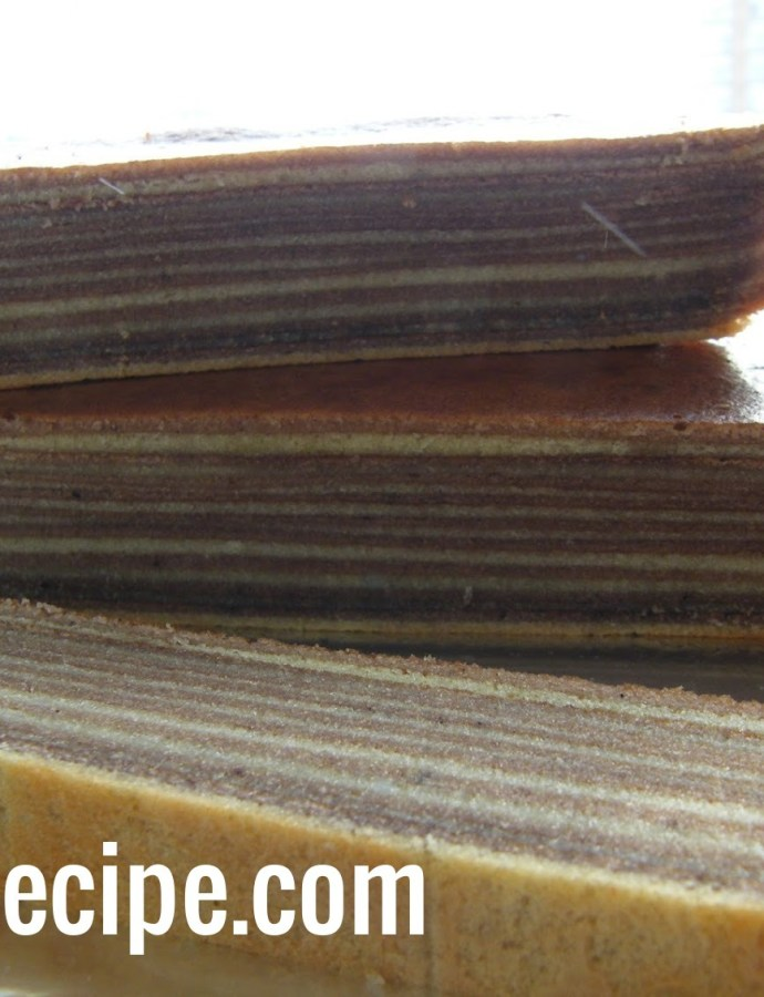 Lapis Legit (Indonesian Thousand Layers Cake)