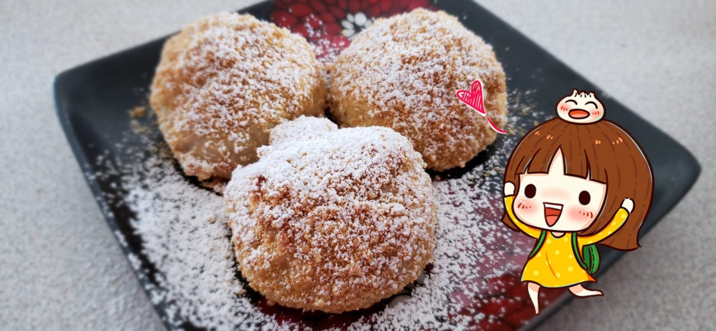 Plums and Apricots Sweet Dumplings (Szilvas es Sargabarackos Gomboc)