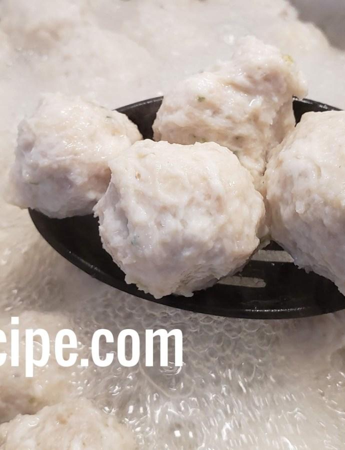 Bakso Ayam (Chicken Balls)