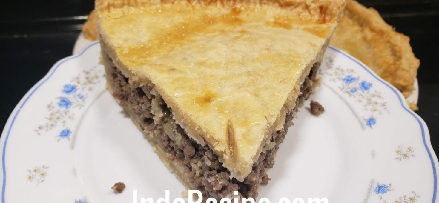 Canadian Cuisine: Tourtiere (Meat Pie)