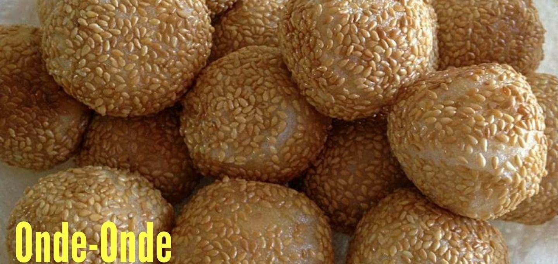 Onde-Onde (Sesame Balls)
