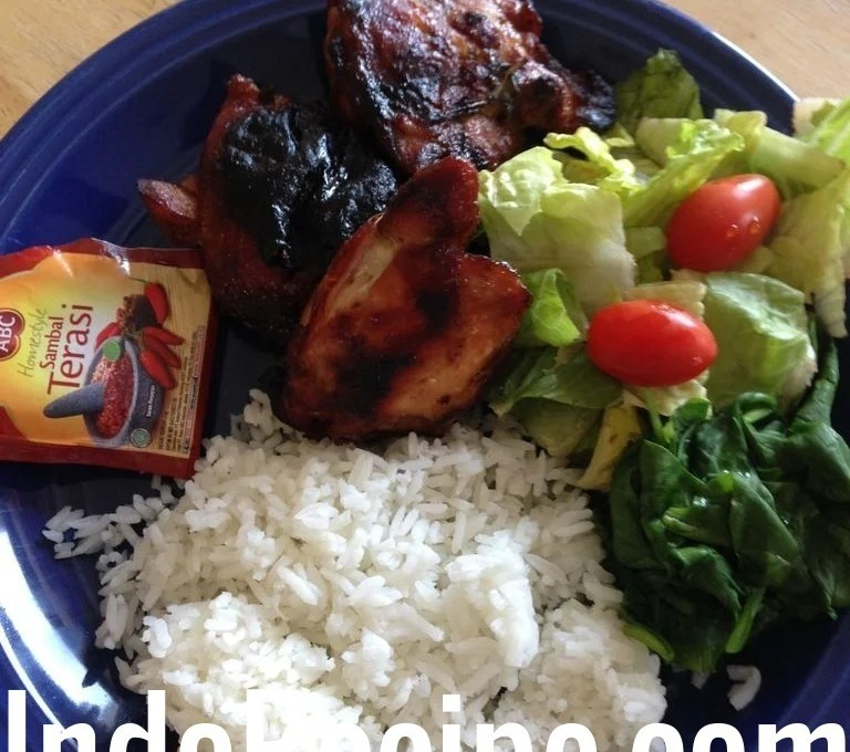 Summer Grilled Chicken (Ayam Bakar)