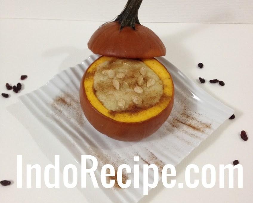 Pudding in a Pumpkin