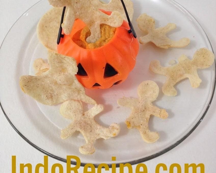 Delicious Pumpkin Dip for Halloween or Thanksgiving