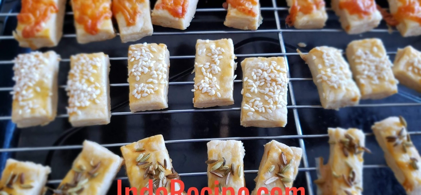 Savory Cookies (Cheese and Seeds)
