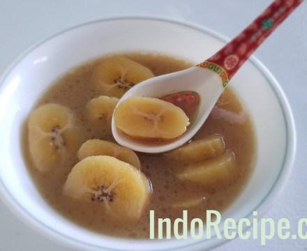 Sweet Banana Soup (Kolak Pisang)
