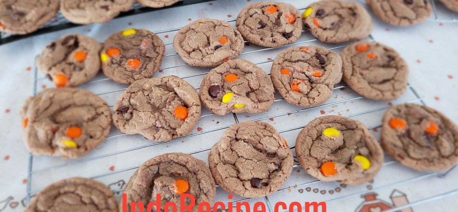 Double Chocolates Reese Cookies