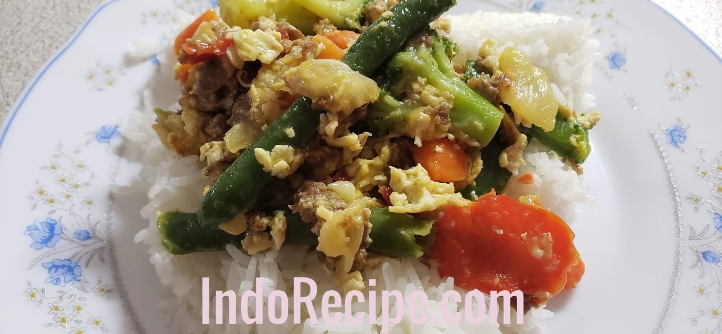 Stir Fry on Rice