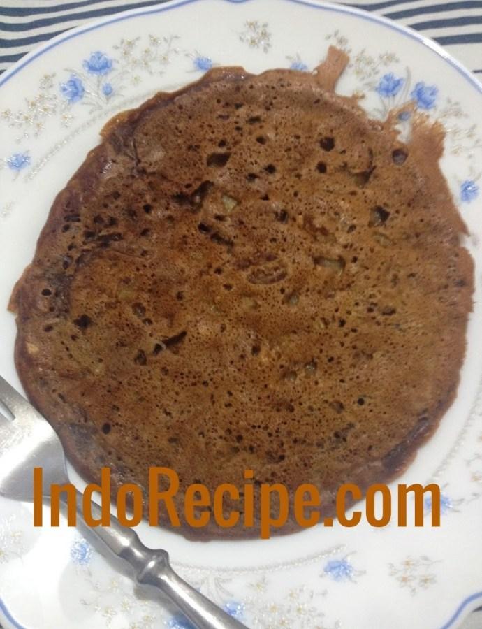 Chocolate Banana Pancake