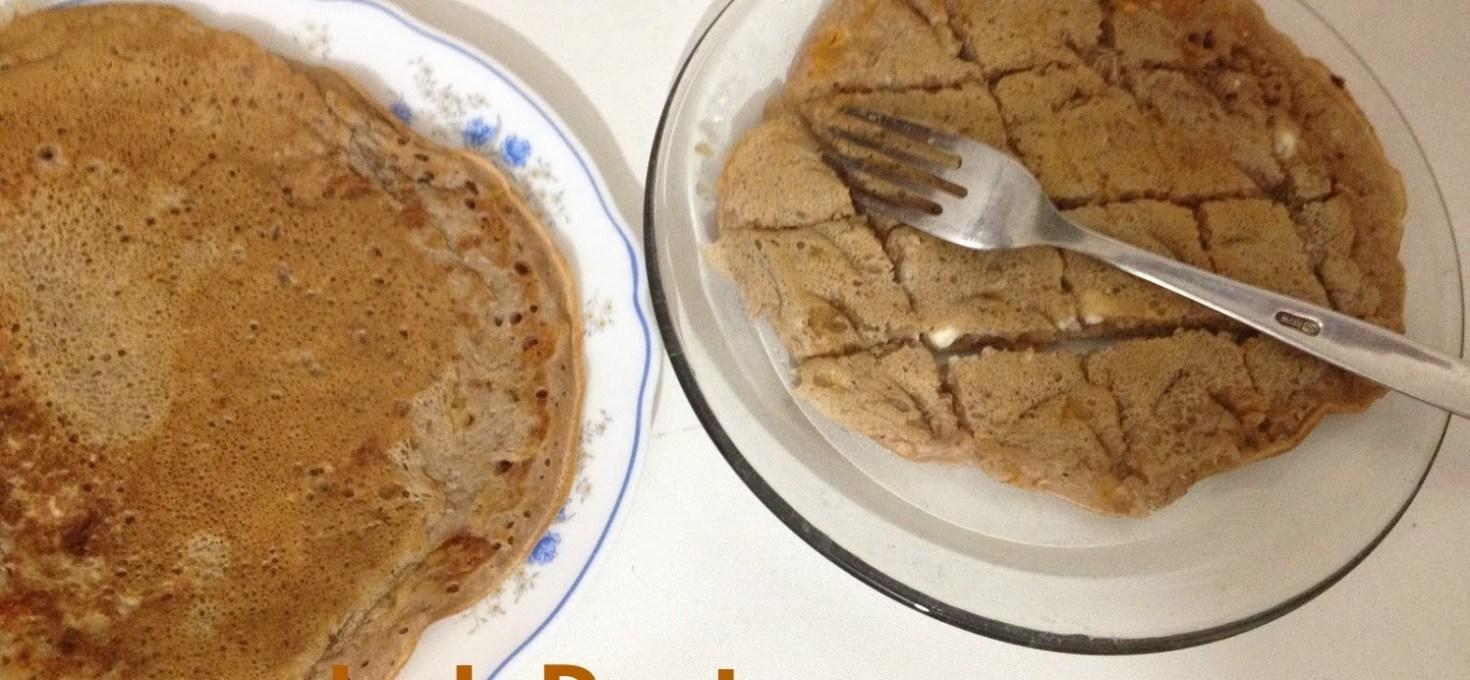 Chocolate Cheese Pancake