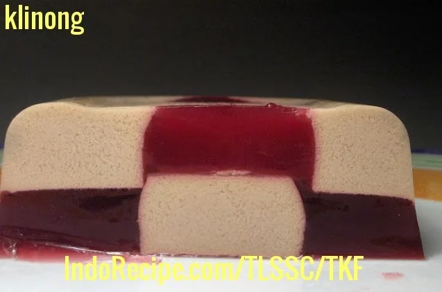 Cherry Chocolate Pudding (How to Make Two-Tone Jelly)