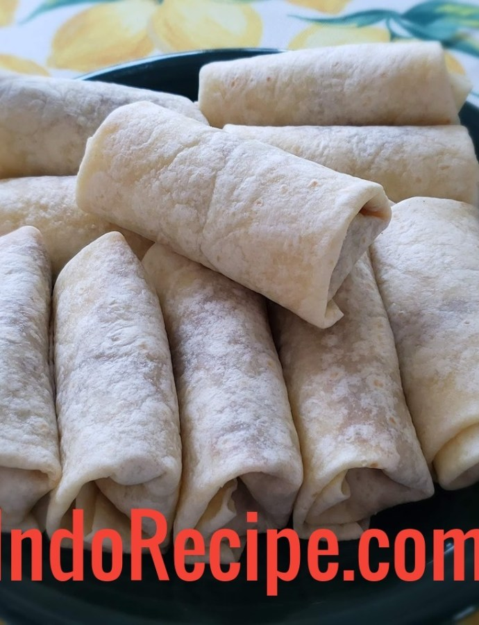 Beef and Beans Burrito